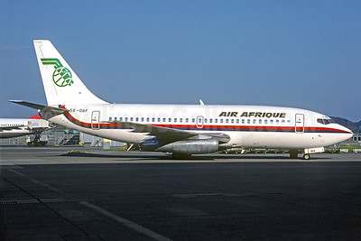 Air Afrique Boeing 737-2Y5 5B-DBF (msn 23040) (Pacific Airlines colors) ZRH (Jacques Guillem Collection). Image: 921644.