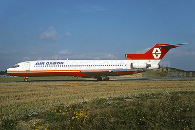 Air Gabon Boeing 727-2L8 YU-AKD (msn 21040) (Aviogenex colors) QLA (Christian Volpati Collection). Image: 925892.