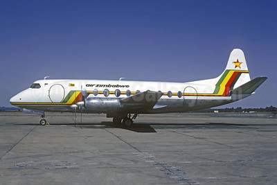 Air Zimbabwe Vickers Viscount 748D Z-YNB (msn 99) (Christian Volpati Collection). Image: 922330.