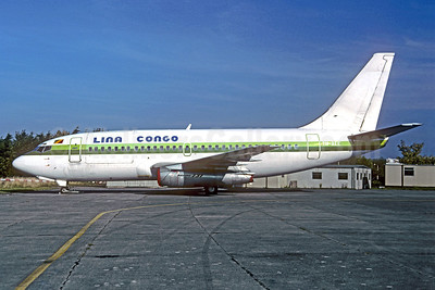 Lina Congo Boeing 737-2Q5C F-GFVR (TN-AEE) (msn 21538) (Air Afrique colors) (Jacques Guillem). Image: 921639.