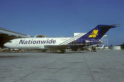 Nationwide Airlines Boeing 727-116 CC-CAG (msn 19811) MIA (Bruce Drum). Image: 103878.