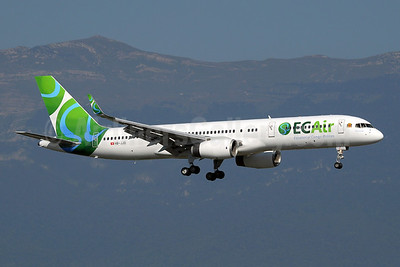 ECAir-Equatorial Congo Airlines (PrivatAir) Boeing 757-236 WL HB-JJD (msn 25807) GVA (Paul Denton). Image: 909091.