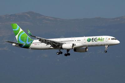 ECAir-Equatorial Congo Airlines (PrivatAir) Boeing 757-236 WL HB-JJD (msn 25807) GVA (Paul Denton). Image: 909091.