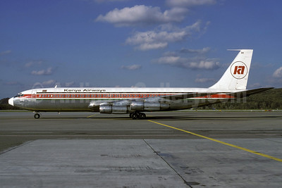 Kenya Airways Boeing 707-351B 5Y-BBK (msn 19872) ZRH (Rolf Wallner). Image: 912694.