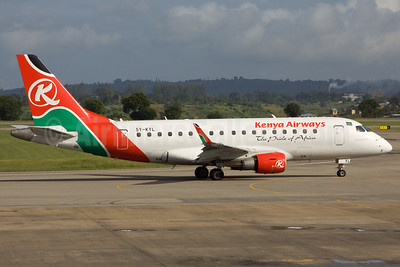 Kenya Airways Embraer ERJ 170-100ST 5Y-KYL (msn 17000146) MBA (Ole Simon). Image: 912492.