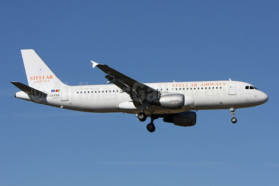 Stellar Airways (White Airways) Airbus A320-211 CS-TQS (msn 726) LIS (Pedro Baptista). Image: 908687.