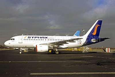 Syphax Airlines (FlySyphax.com) Airbus A319-112 D-AHIN (TS-IEF) (msn 3853) (Jacques Guillem Collection). Image: 908648.