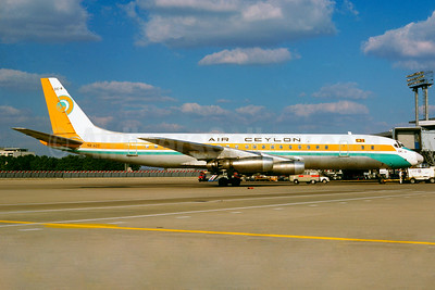 Air Ceylon Douglas DC-8-41 4R-ACT (msn 45445) ORY (Jacques Guillem Collection). Image: 926059.