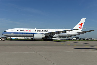 Air China Cargo Boeing 777-FFT B-6097 (msn 44680) AMS (Ton Jochems). Image: 922642.