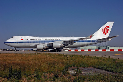 Air China Cargo Boeing 747-4FTF B-2476 (msn 34240) JFK (Ken Petersen). Image: 900403.