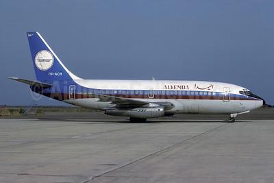 Alyemda Boeing 737-2R4C 7O-ACR (msn 23130) ADE (Rolf Wallner). Image: 913894.