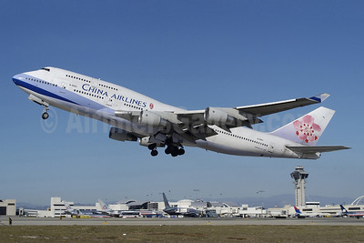 China Airlines Boeing 747-409 B-18251 (msn 27965) LAX (Roy Lock). Image: 904465.