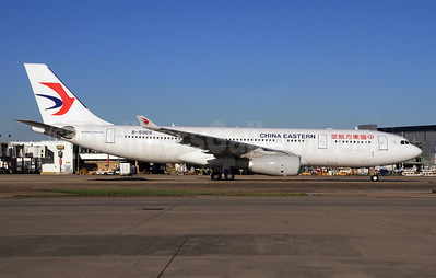 China Eastern Airlines Airbus A330-243 B-5968 (msn 1603) LHR (SPA). Image: 927560.