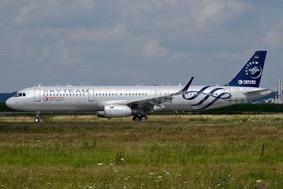 First China Eastern Airbus A321 in SkyTeam colors