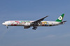 EVA Air Boeing 777-35E ER B-16703 (msn 32643) (Hello Kitty - Sanrio Family) LAX (Jay Selman). Image: 402291.