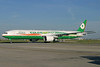 EVA Air Boeing 777-35E ER B-16702 (msn 32640) (777-300 ER colors) LHR (Antony J. Best). Image: 904307.