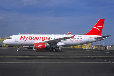 FlyGeorgia (flygeorgia.com) (Georgia) (Czech Airlines) Airbus A320-214 OK-GEB (msn 1450) (Jacques Guillem Collection). Image: 922356.