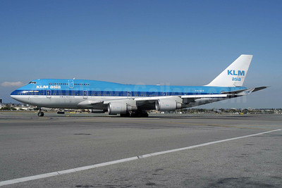 KLM Asia (KLM Royal Dutch Airlines) Boeing 747-406 PH-BFF (msn 24202) LAX (Roy Lock). Image: 909773.