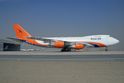 Kam Air (The Cargo Airlines) Boeing 747-281F 4L-TZS (msn 24576) SHJ (Paul Denton). Image: 913878.