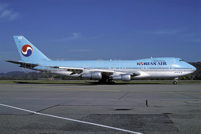 Korean Air Boeing 747-2B5B HL7454 (msn 22482) ZRH (Rolf Wallner). Image: 913548.