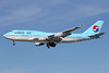 Korean Air Boeing 747-4B5 HL7491 (msn 27341) LAX (Michael B. Ing). Image: 912441.