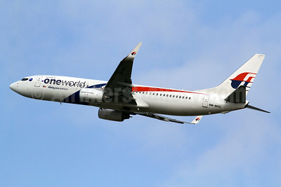 Malaysia Airlines Boeing 737-8H6 WL 9M-MXC (msn 40130) (Oneworld) TPE (Manuel Negrerie). Image: 922534.