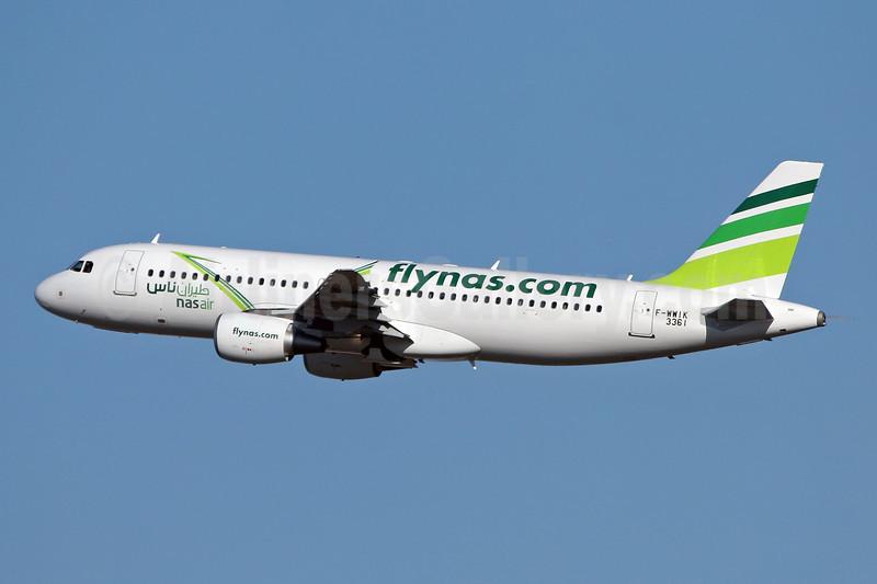 Nasair (Saudi Arabia) (flynas.com) Airbus A320-214 F-WWIK (VP-CXZ) (msn 3361) TLS (Eurospot). Image: 906146.