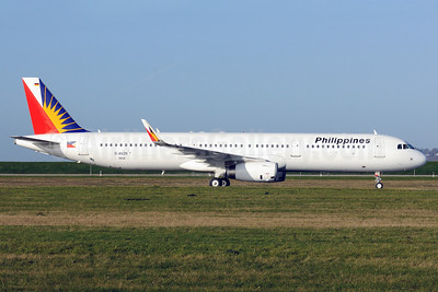 Philippines (Philippine Airlines) Airbus A321-231 WL D-AVZR (RP-C9907) (msn 5838) (Sharklets) XFW (Gerd Beilfuss). Image: 921068.