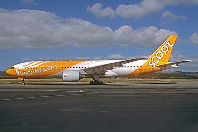 Scoot-flyscoot.com (Singapore Airlines) Boeing 777-212 ER 9V-OTD (msn 28510) (Jacques Guillem Collection). Image: 921350.