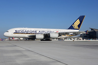 Singapore Airlines Airbus A380-841 9V-SKF (msn 012) LAX (Ton Jochems). Image: 921187.