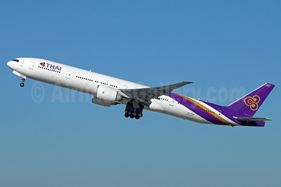 Thai Airways International Boeing 777-3AL ER HS-TKN (msn 41523) LAX (Michael B. Ing). Image: 921552.