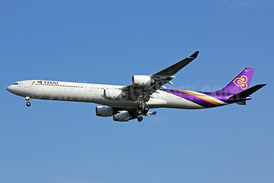 Thai Airways International Airbus A340-642 HS-TNE (msn 719) BKK (Michael B. Ing). Image: 923692.