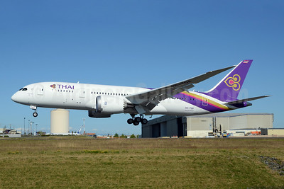 Thai's first Boeing 787-8 Dreamliner