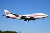 Thai Airways International Boeing 747-4D7 HS-TGG (msn 27093) SYD (John Adlard). Image: 900004.