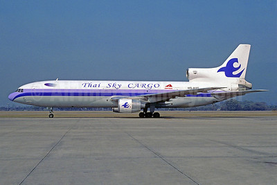 Thai Sky Airlines Cargo Lockheed L-1011-385-1 TriStar 1 (F) HS-AXF (msn 1012) DMK (Jacques Guillem Collection). Image: 921674.