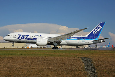 ANA (All Nippon Airways) Boeing 787-8 Dreamliner JA823A (msn 42246)