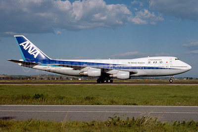 ANA-All Nippon Airways Boeing 747-281B JA8181 (msn 23698) FCO (Marco Finelli). Image: 913284.