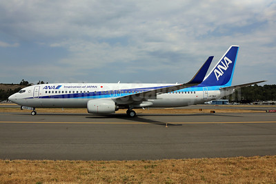 ANA (All Nippon Airways) Boeing 737-881 WL JA73AN (msn 33904) (Inspiration of Japan) BFI (James Helbock). Image: 913306.