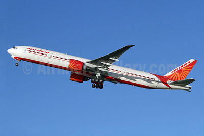 Air India Boeing 777-337 ER VT-ALK (msn 36309) LHR (Keith Burton). Image: 910275.