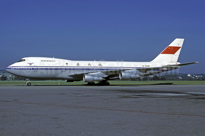 CAAC (Civil Aviation Administration of China) Boeing 747-2J6B B-2446 (msn 23071) ZRH (Rolf Wallner). Image: 913369.