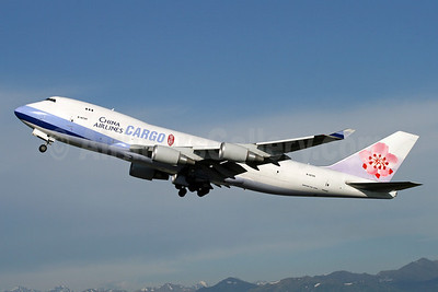 China Airlines Cargo Boeing 747-409F B-18720 (msn 33733) ANC (Michael B. Ing). Image: 910473.