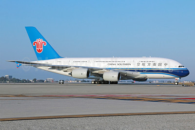 China Southern Airlines Airbus A380-841 B-6140 (msn 120) LAX. Image: 912111.