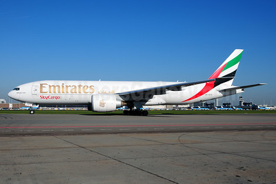 Emirates SkyCargo (Emirates Airline) Boeing 777-F1H A6-EFD (msn 35606) AMS (Ton Jochems). Image: 911107.