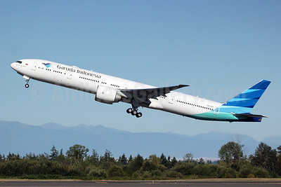 Garuda Indonesia Airways Boeing 777-3U3 ER PK-GIC (msn 40075) PAE (Nick Dean). Image: 913122.