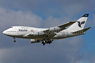 IranAir-The Airline of the Islamic Republic of Iran Boeing 747SP-86 EP-IAD (msn 21758) CGN (Arnd Wolf). Image: 905619.