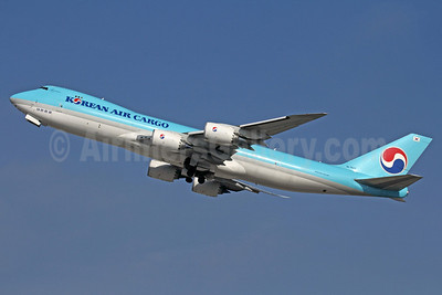 Korean Air Cargo Boeing 747-8HTF HL7609 (msn 37132) LAX (Michael B. Ing). Image: 910000.
