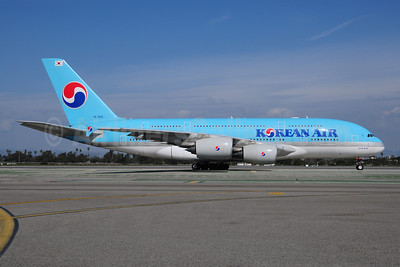 Korean Air Airbus A380-861 HL7611 (msn 035) LAX (Ton Jochems). Image: 907924.