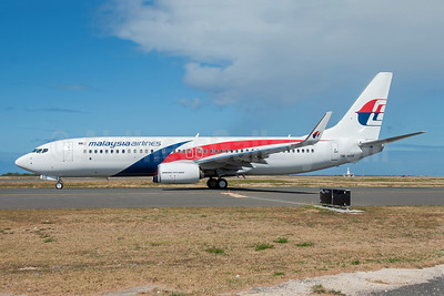 Malaysia Airlines Boeing 737-8H6 WL 9M-MSE (msn 40147) HNL (Ivan K. Nishimura). Image: 913088.