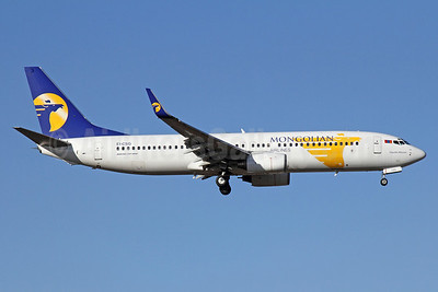 Mongolian Airlines (MIAT) Boeing 737-8AS WL EI-CSG (msn 29922) PEK (Michael B. Ing). Image: 911982.