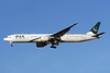 PIA-Pakistan International Airlines Boeing 777-340 ER AP-BID (msn 33780) LHR (Rolf Wallner). Image: 909958.